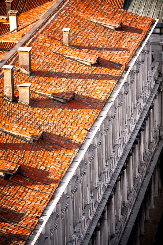 Roof tops of Venice