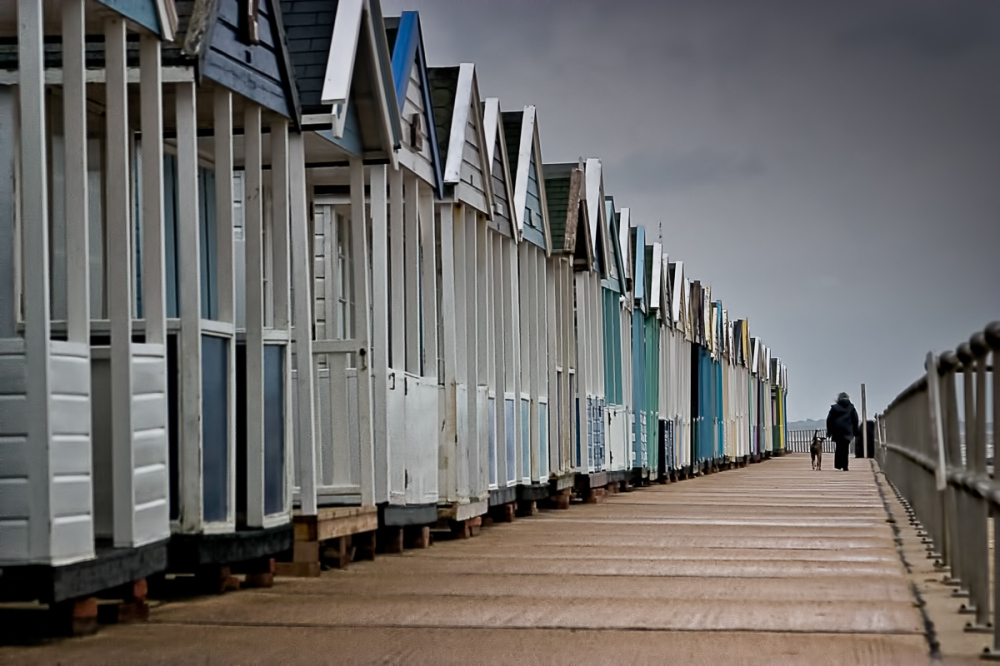 Grey Day at Southwold