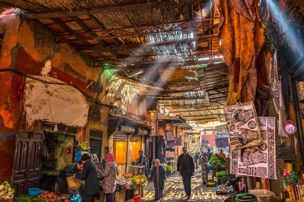 Covered Souk Marrakech