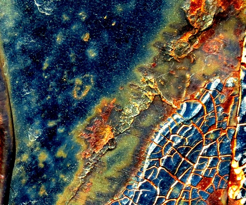 craquelures de rouille  #2 -  crackled rust #2