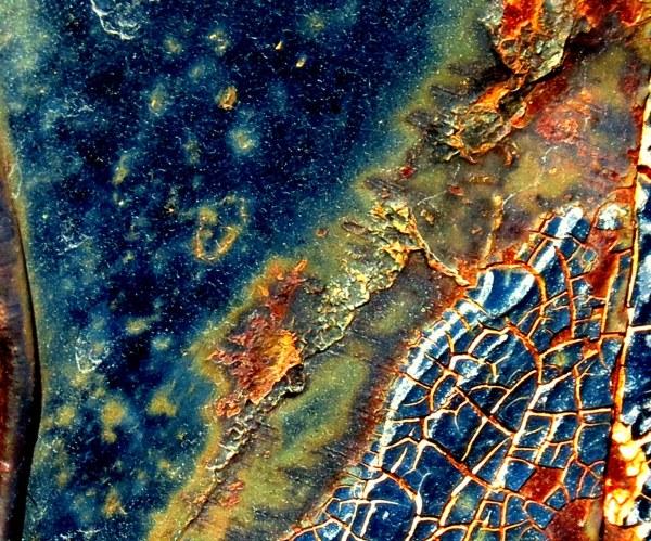 craquelures de rouille  #2 -  crackled rust #2