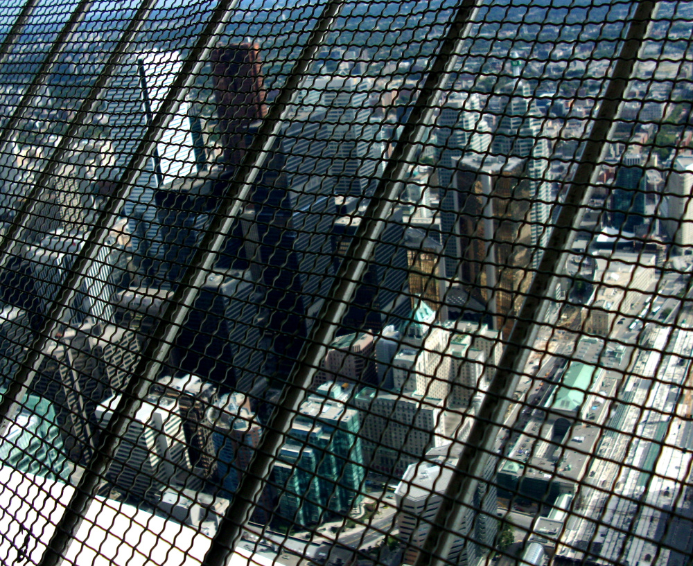 Toronto sous grillage -Toronto under screen  guard