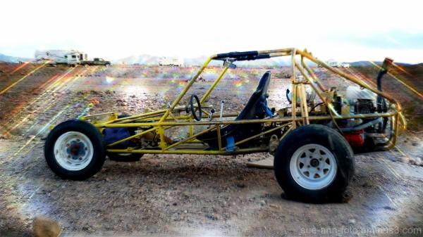 mon buggy qui brille - my sandrail shining