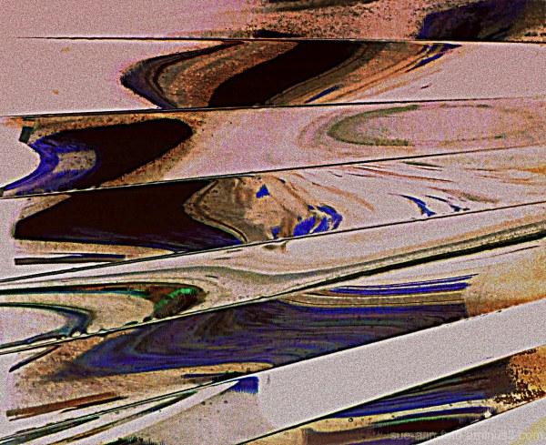 vagues sur le rivage -  waves on the shore