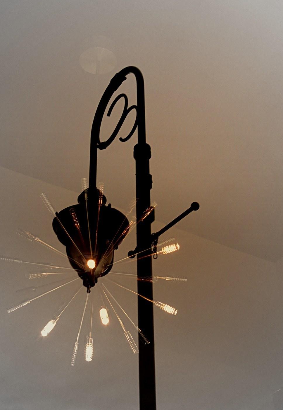 lampadaire étincelant - sparkling streetlamp
