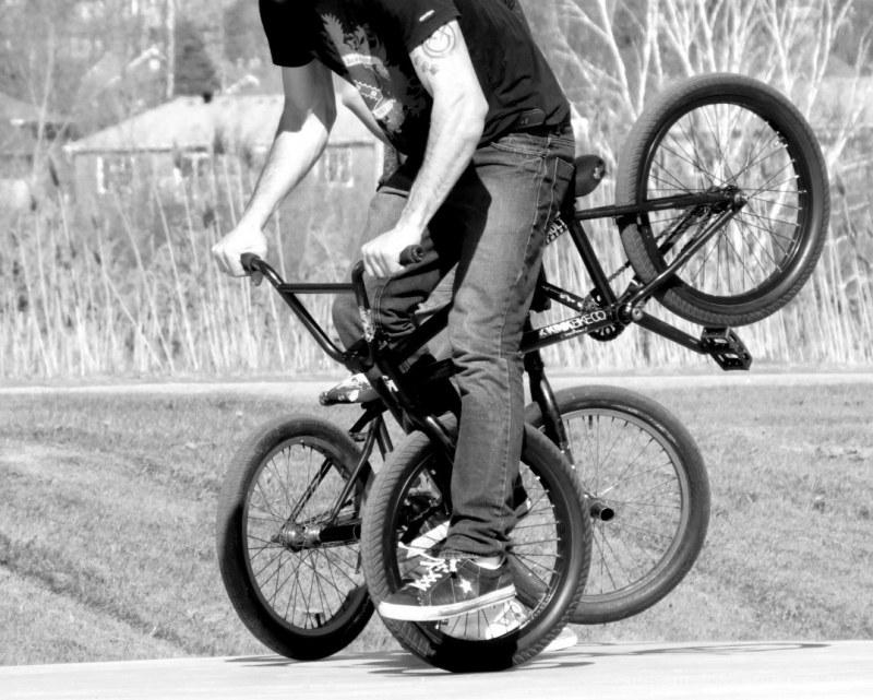 vélo à 4 roues - four wheels bike