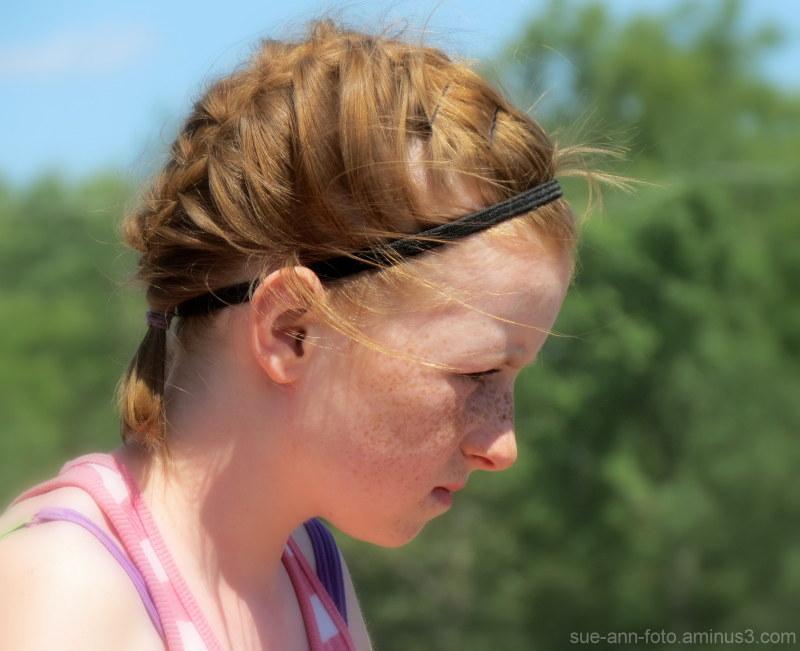 les nattes rousses-  the reddish braids