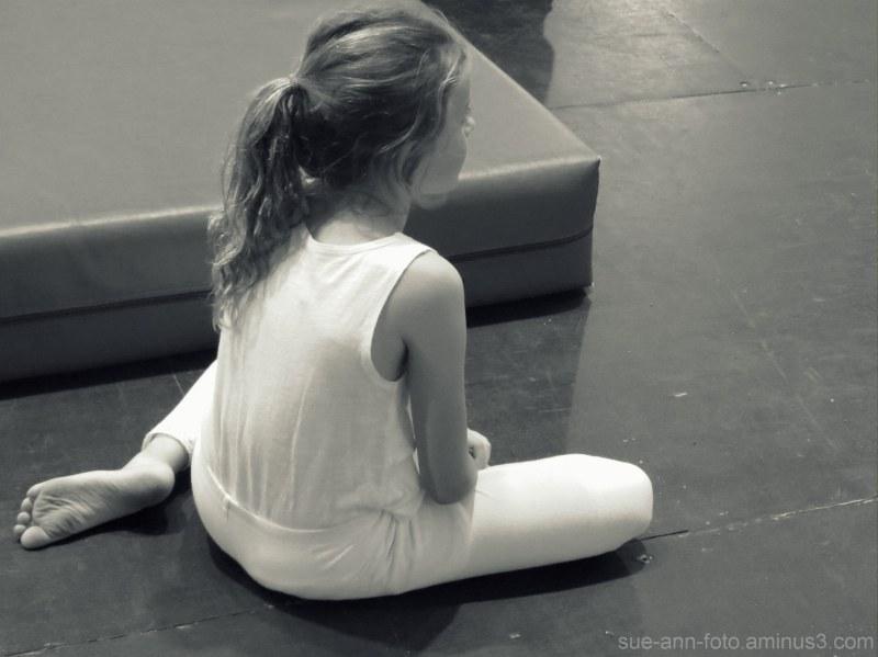 fillette du Cirque des Étoiles - Stars Circus girl