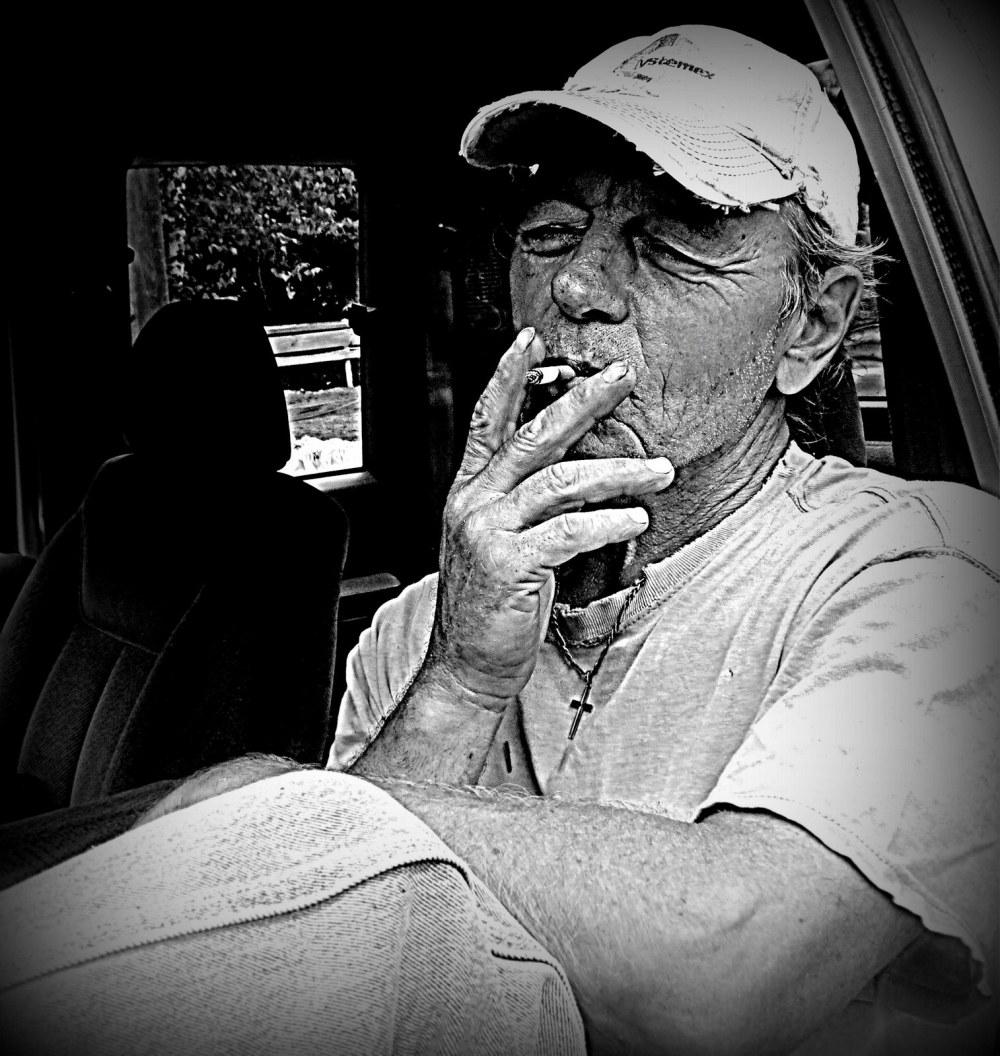 une bonne clope - a gooood cigarette