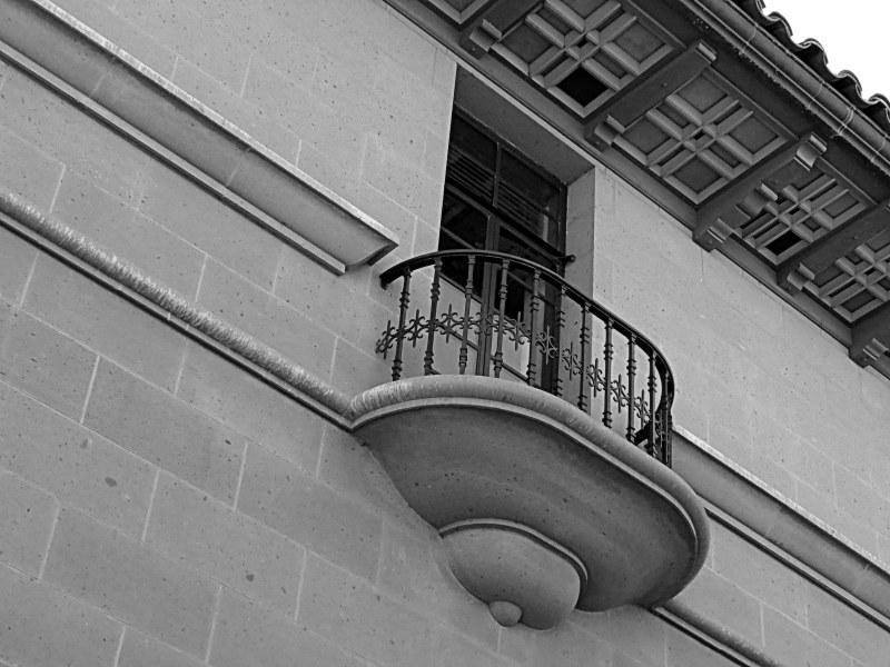 le balcon de Juliette - Juliette's balcony