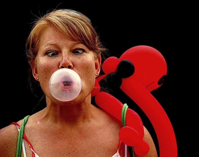 la gomme balloune - bubble gum