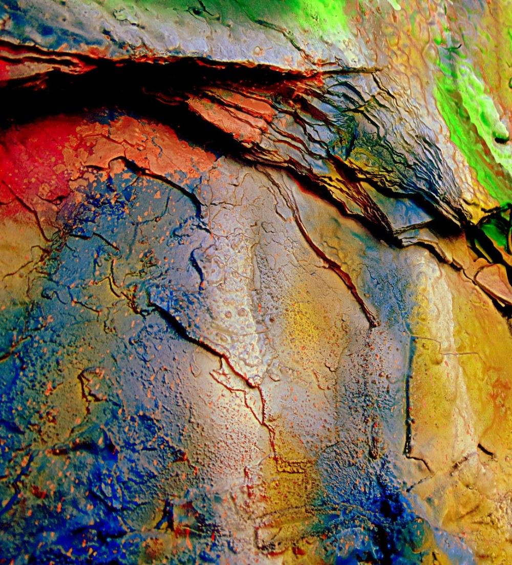 des couches de peinture