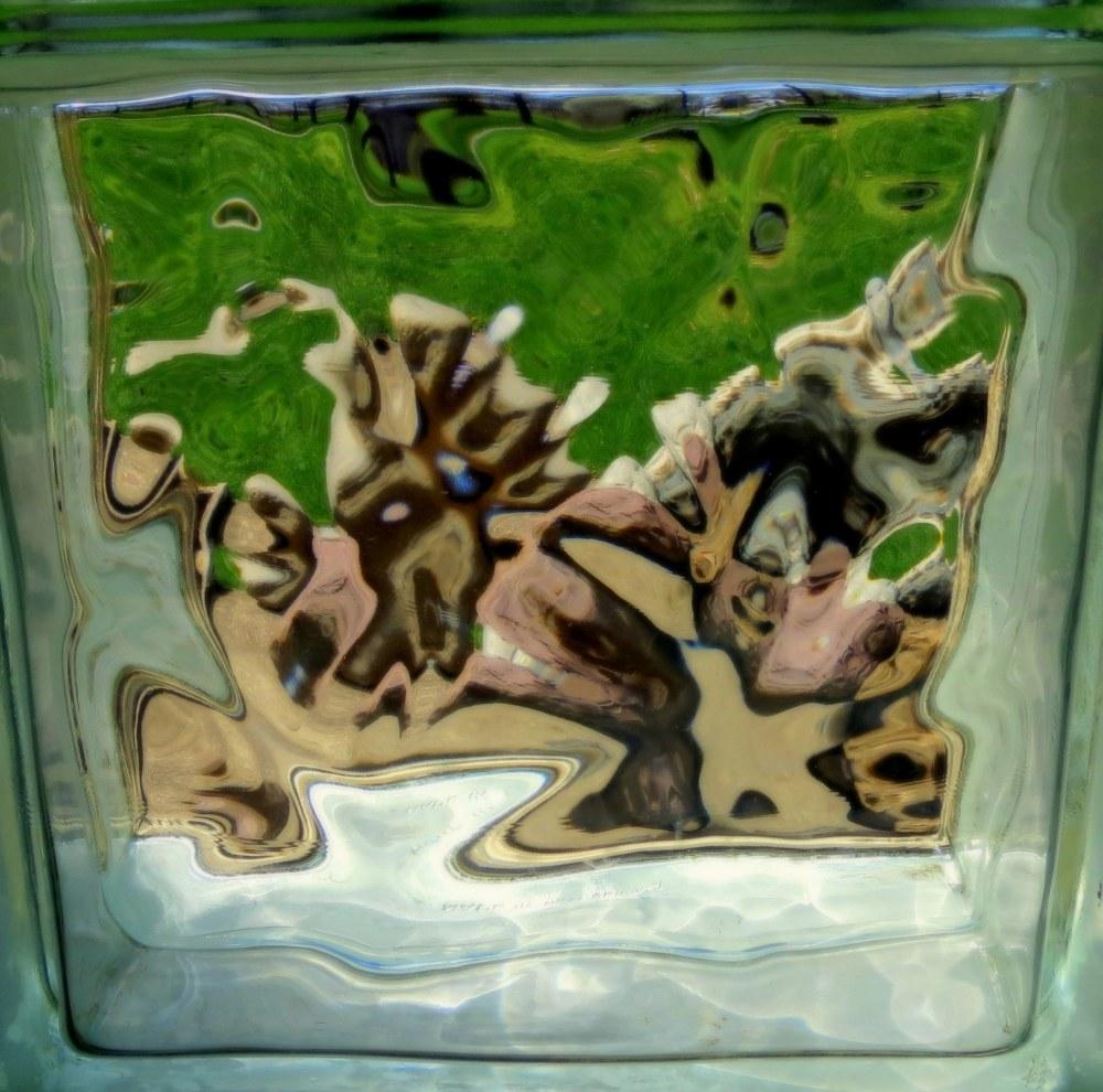 blocs de verre  #1- glass block