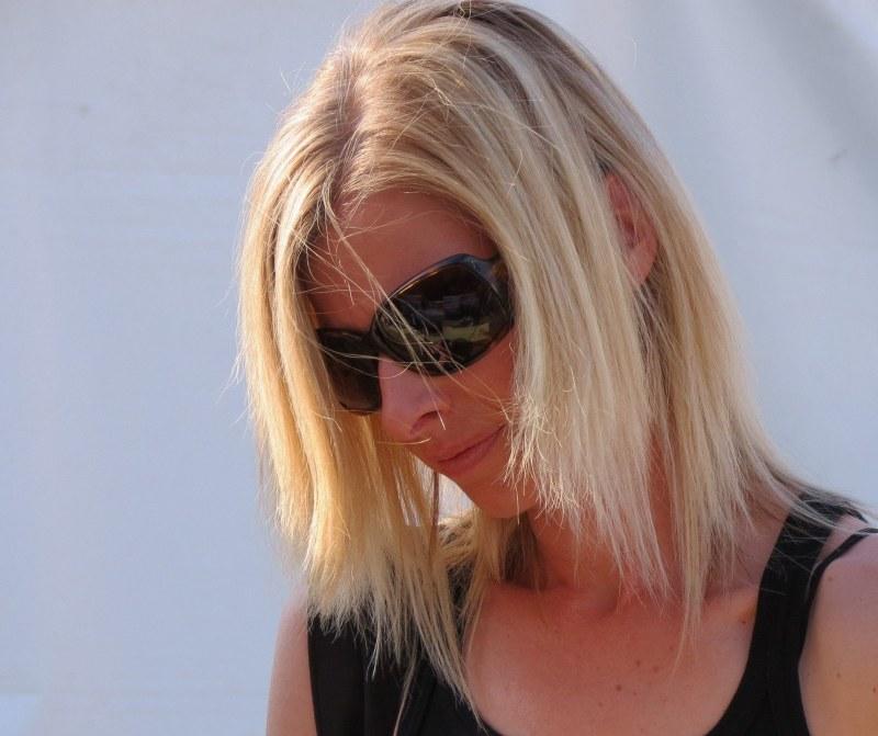 le soleil dans  ses cheveux - sun on her hair