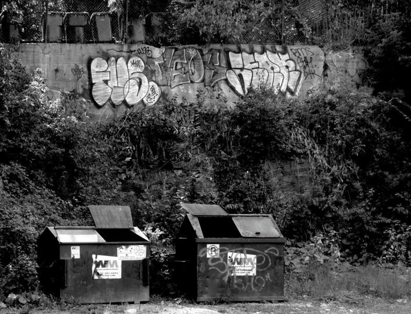 dépotoir urbain - city garbage dump