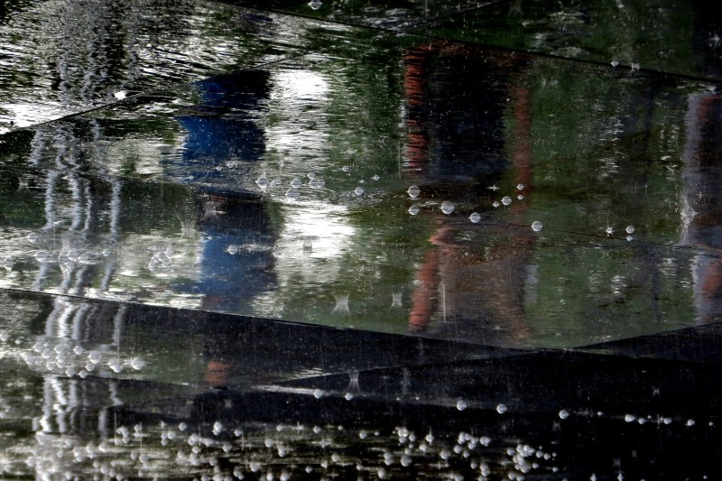pluie et grêle   rain and  hail