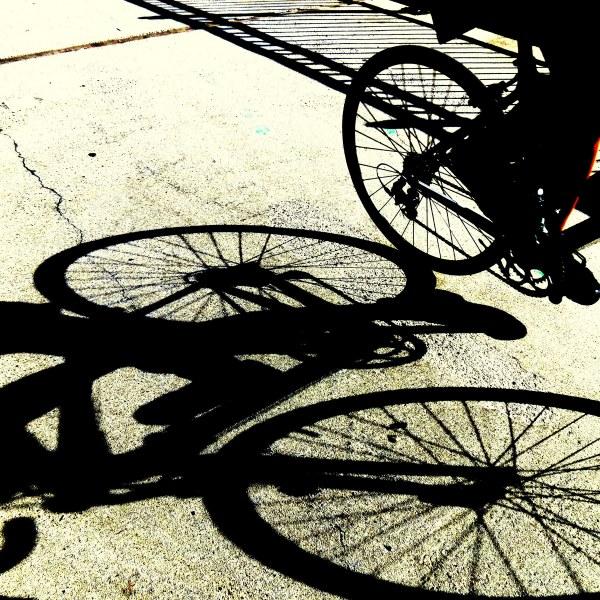 à bicyclette