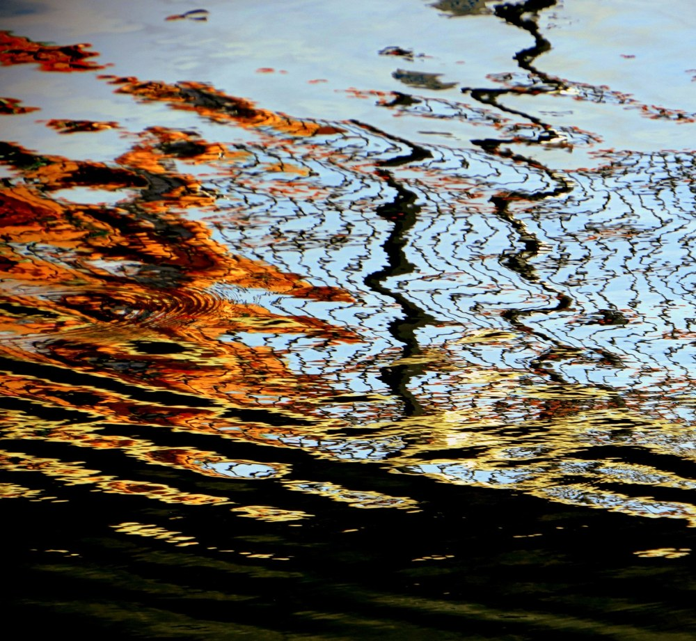 reflet  du lac