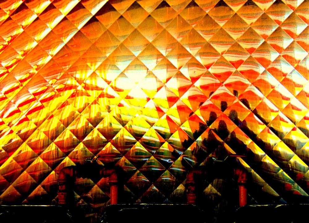 losanges de lumière -  diamonds of colors