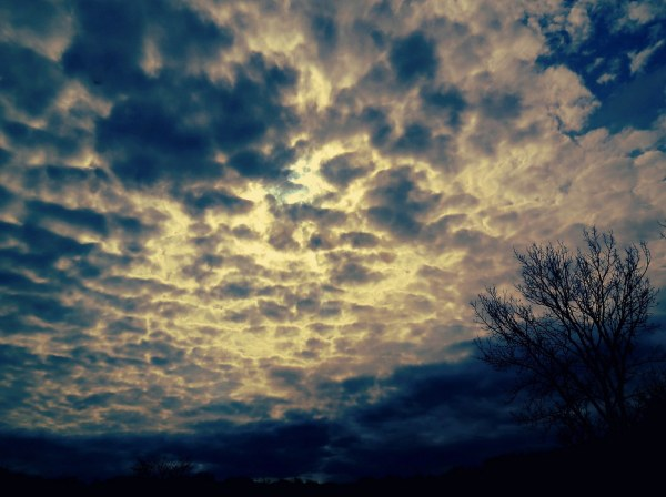 le ciel rencontre la terre - where sky meets earth