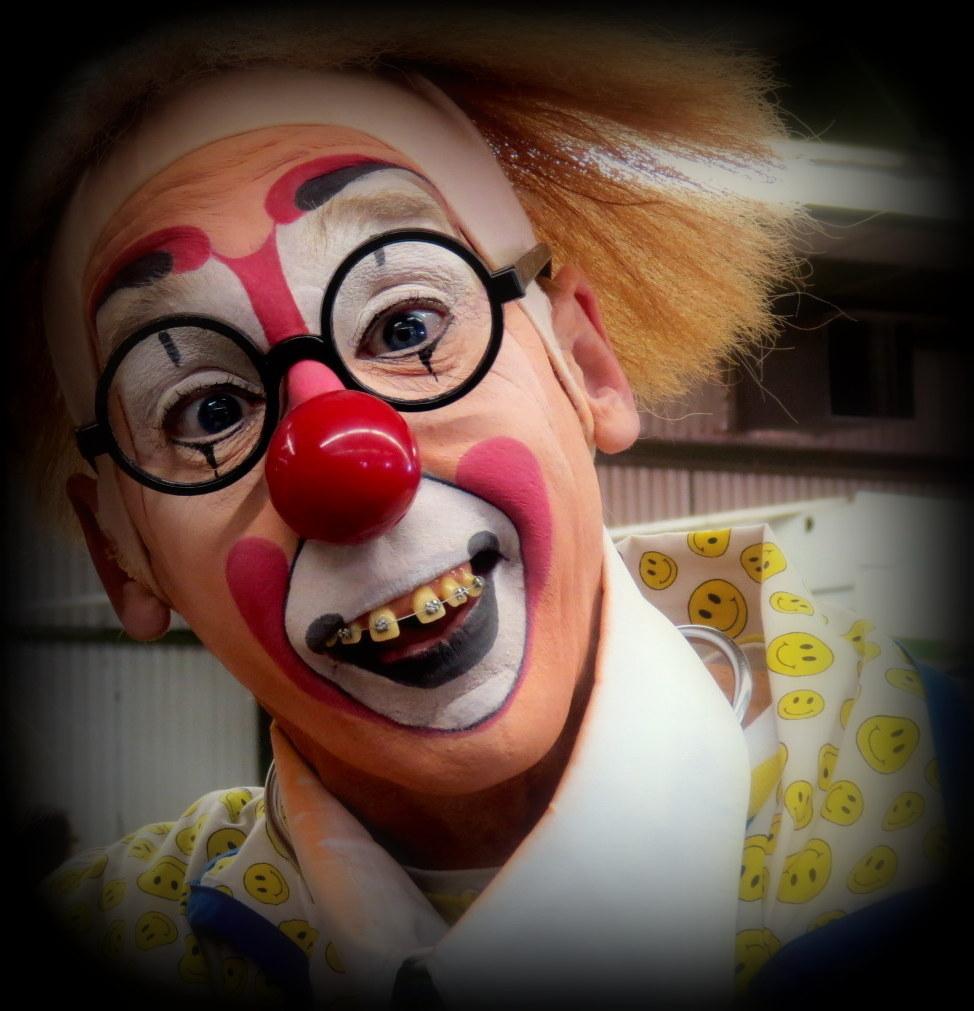 le clown heureux
