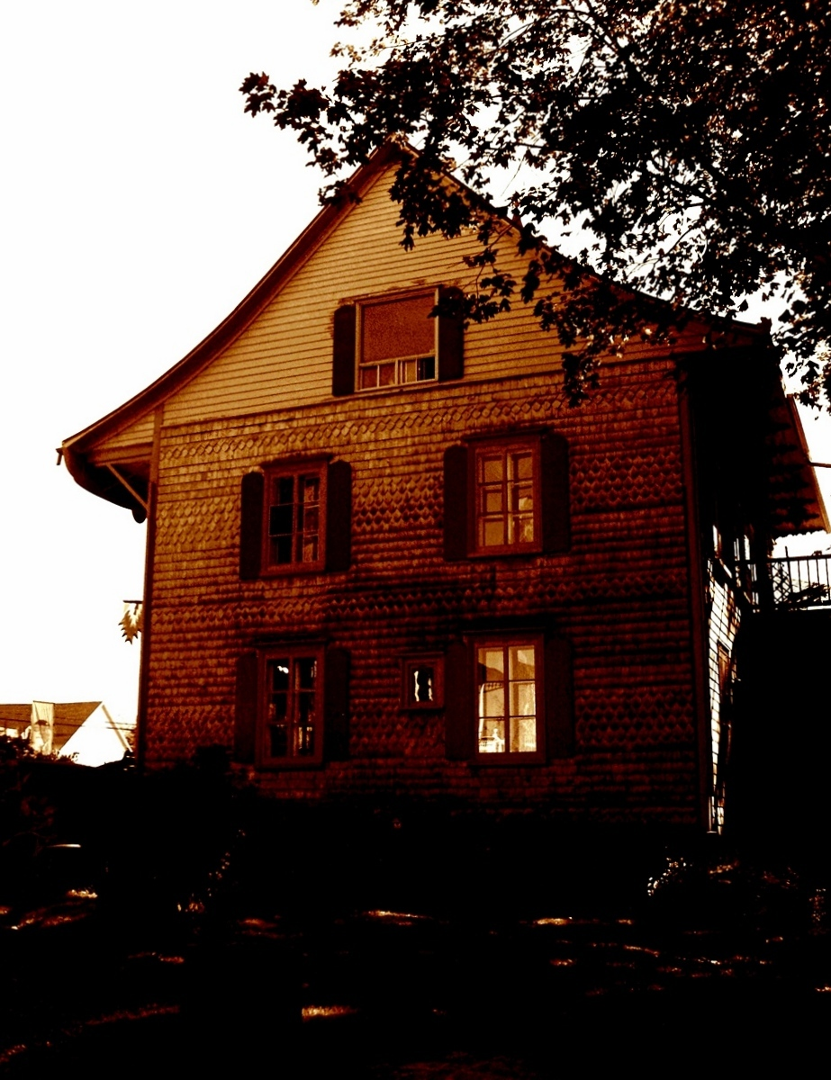 la petite maison hantée
