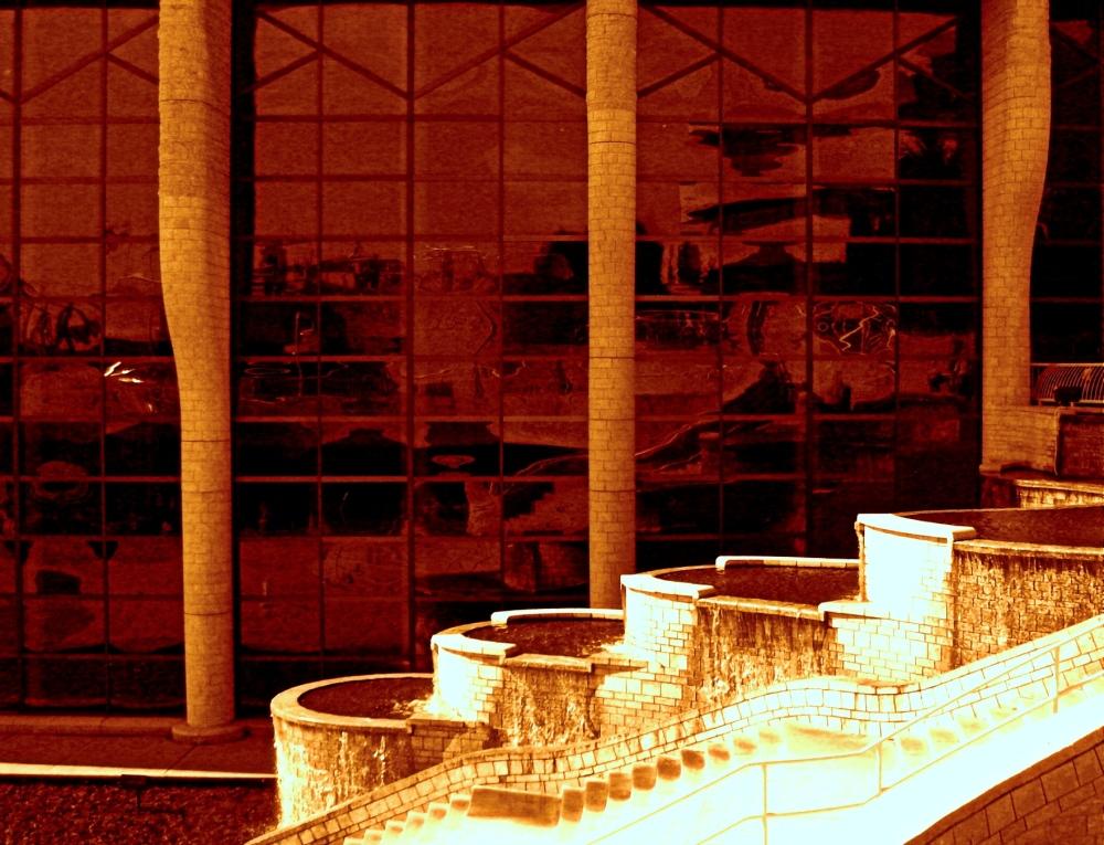 la fontaine du musée