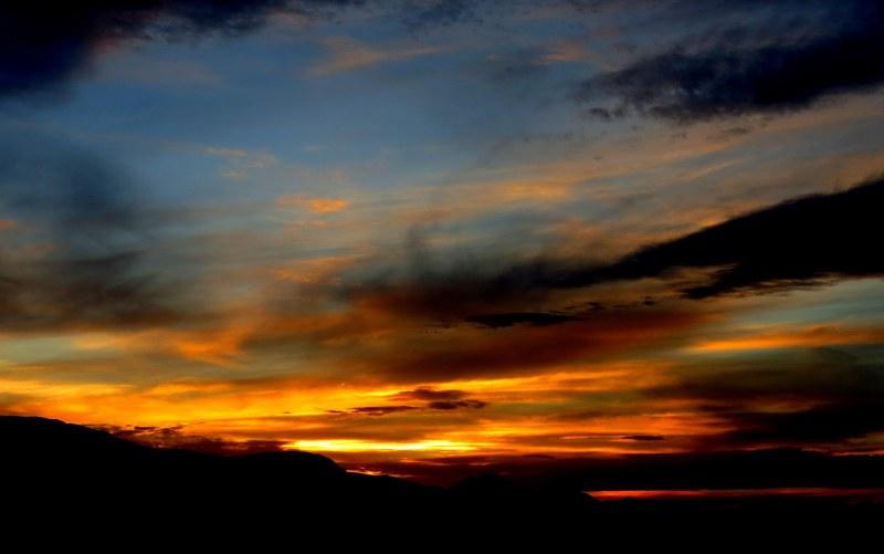 sunset in Arizona