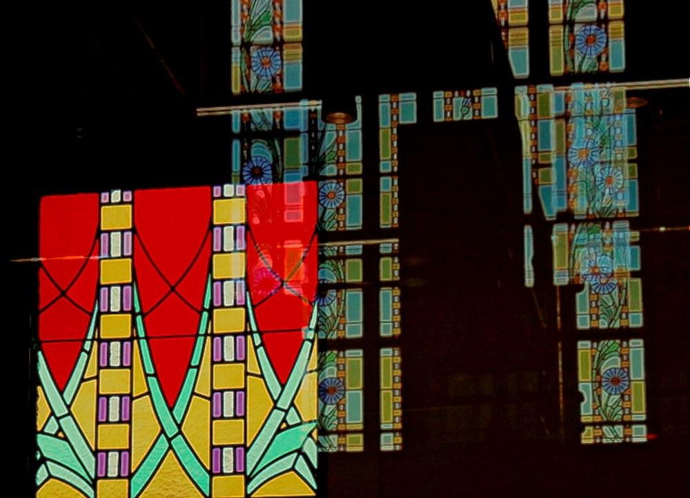 les vitraux  - Bonne Fête des Mères