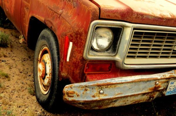 vieux  Chevy Custom 20