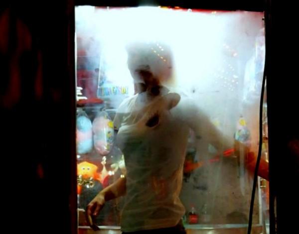 dans le frigo
