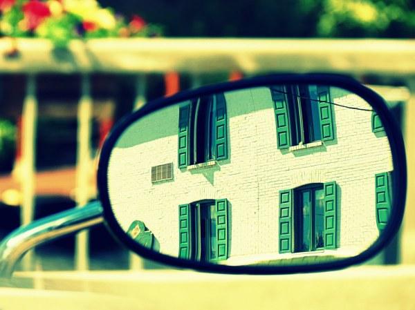 miroir avec vue