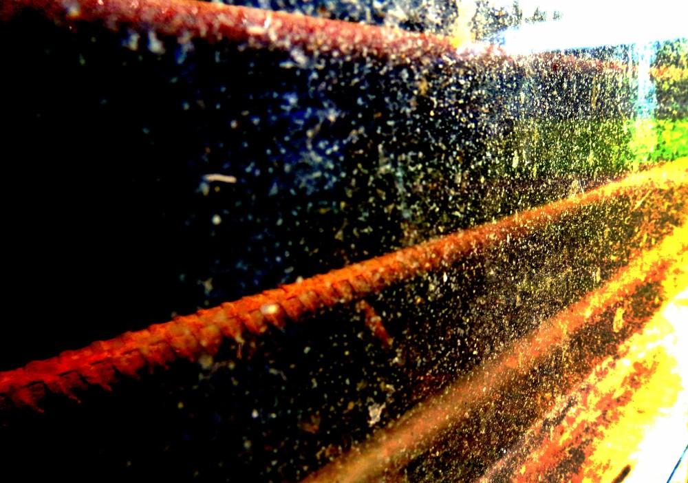 lignes et poussières