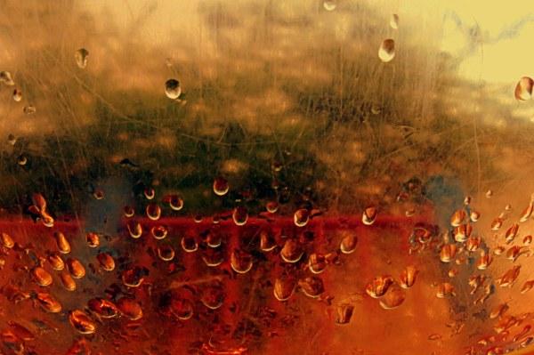 quelques gouttes de pluie