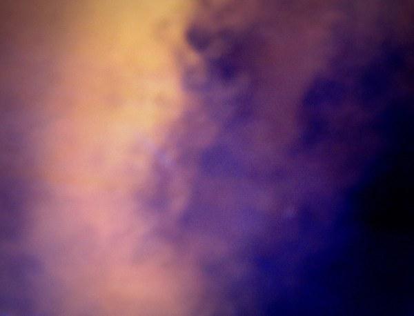 visage dans un nuage