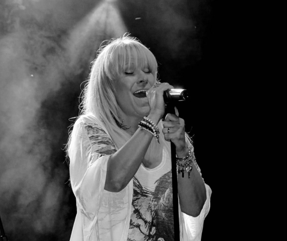 la chanteuse rock
