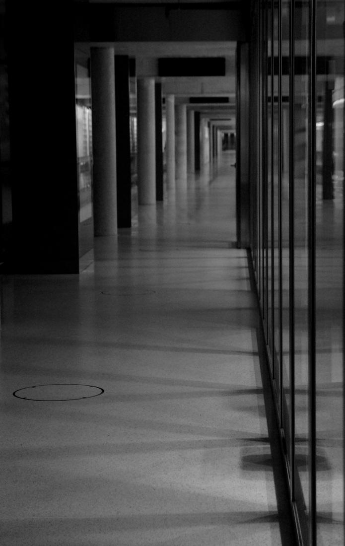 le corridor...