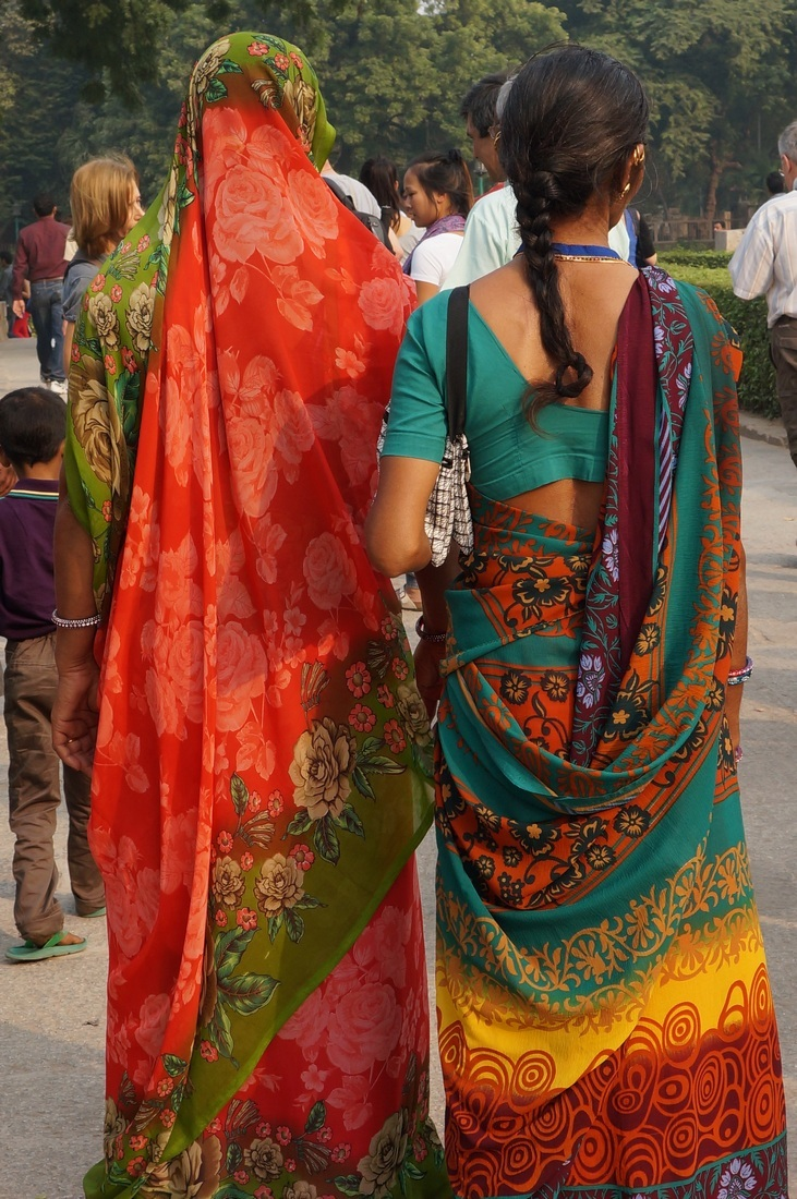 multiple colors of India