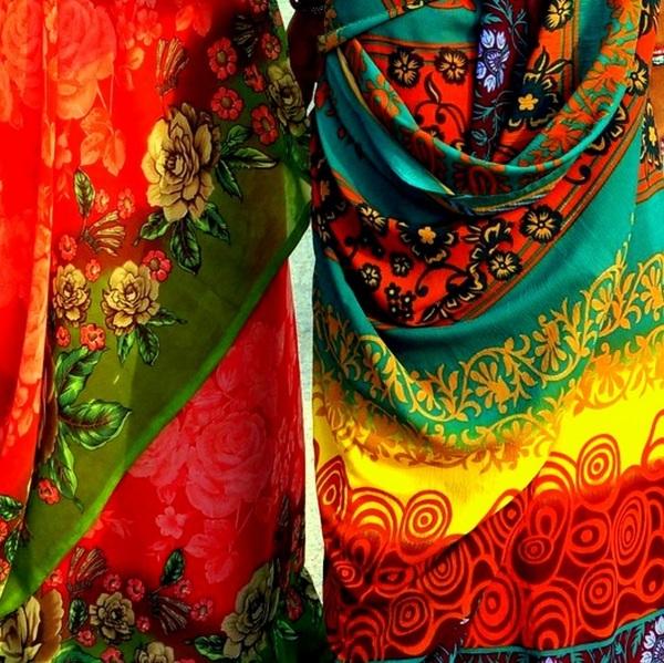 les couleurs de l'Inde