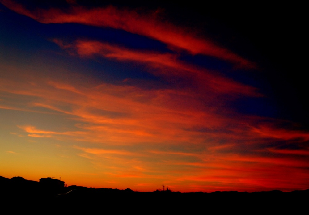 sunset in Arizona again
