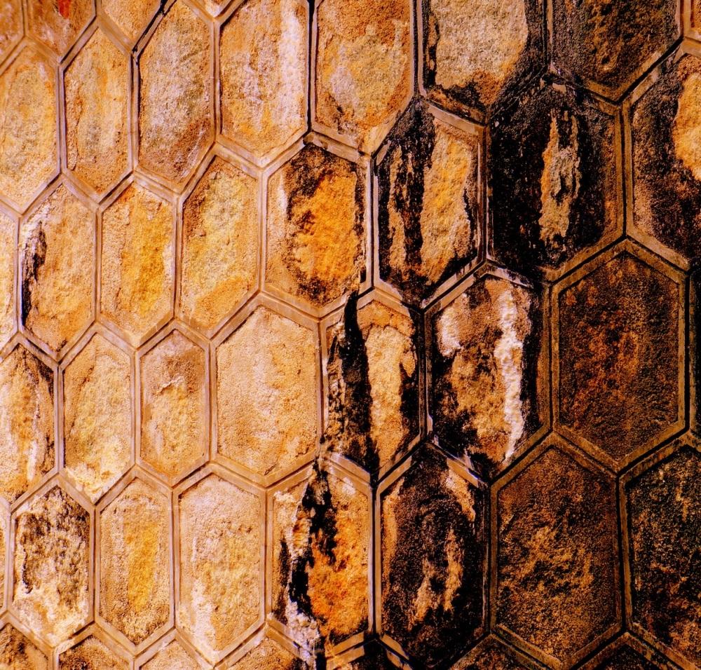 le mur orangé
