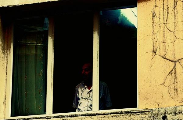 un Turc à la fenêtre
