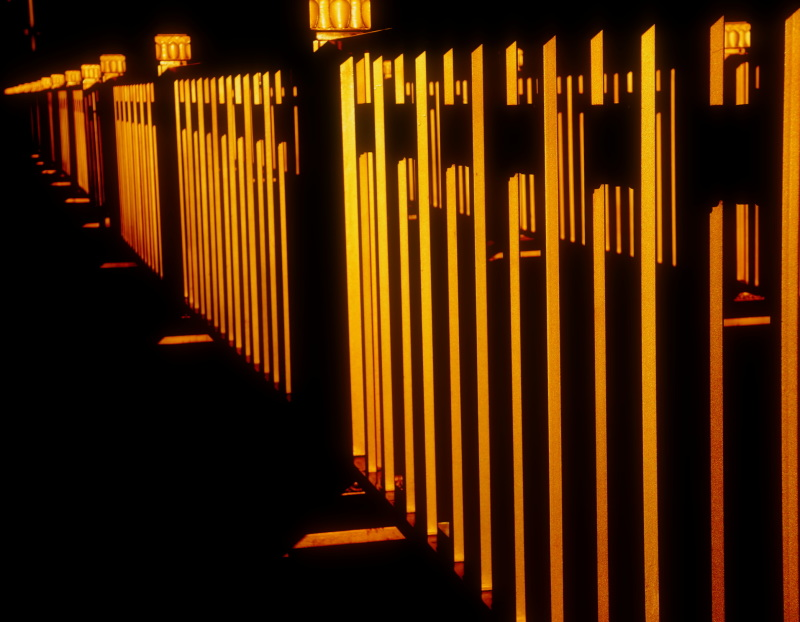 fence of gold