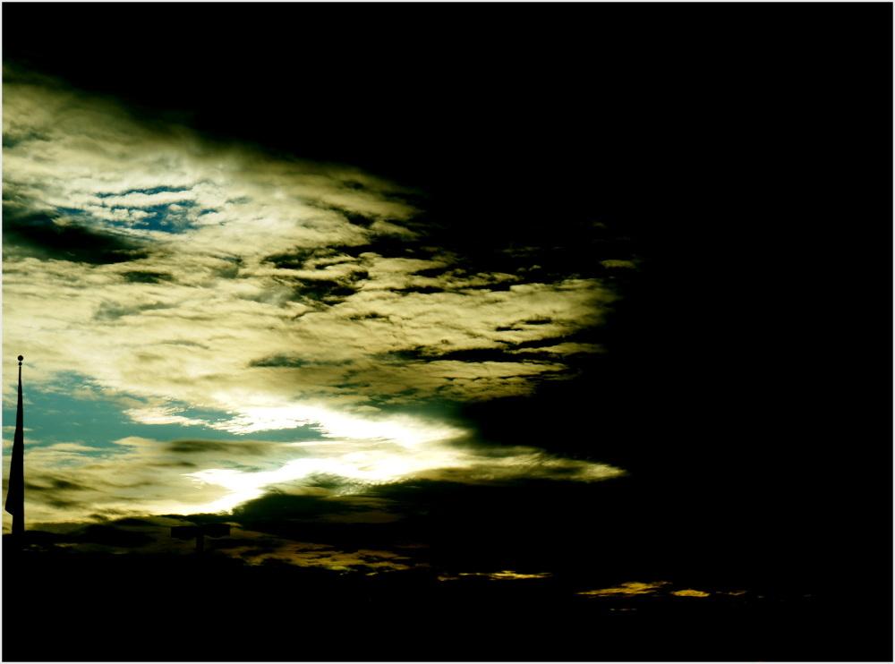 ciel peu prometteur