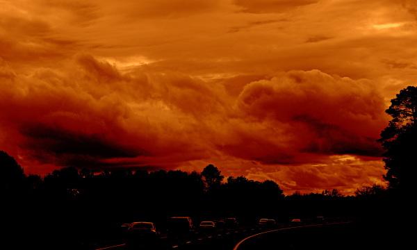 un ciel de fin du monde