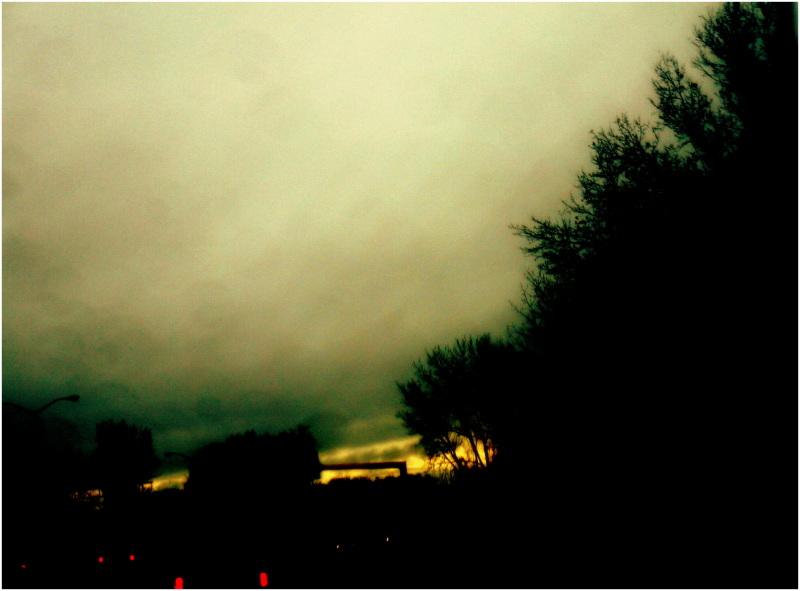 paysage de fin de journée