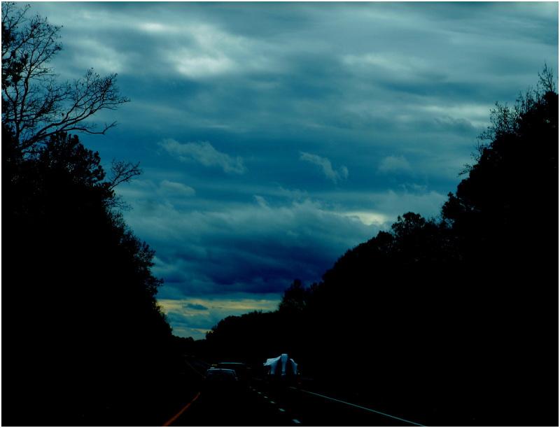 bleu, bleu, le ciel est bleu