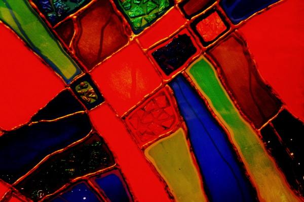 le vitrail géométrique