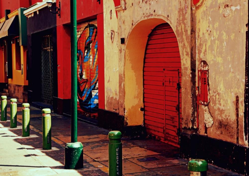 la petite rue au Pérou