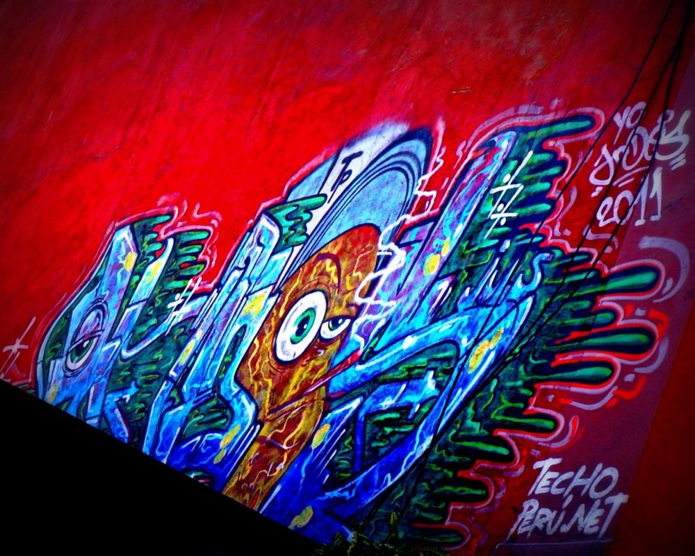 le graffiti tout en couleurs